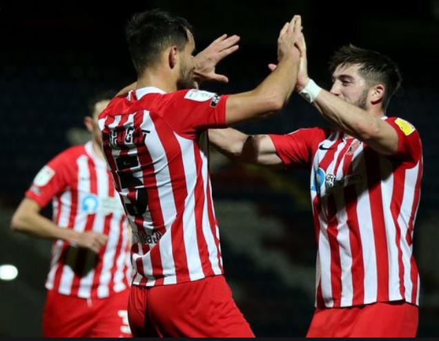 Wyke goal Portsmouth Sunderland blog