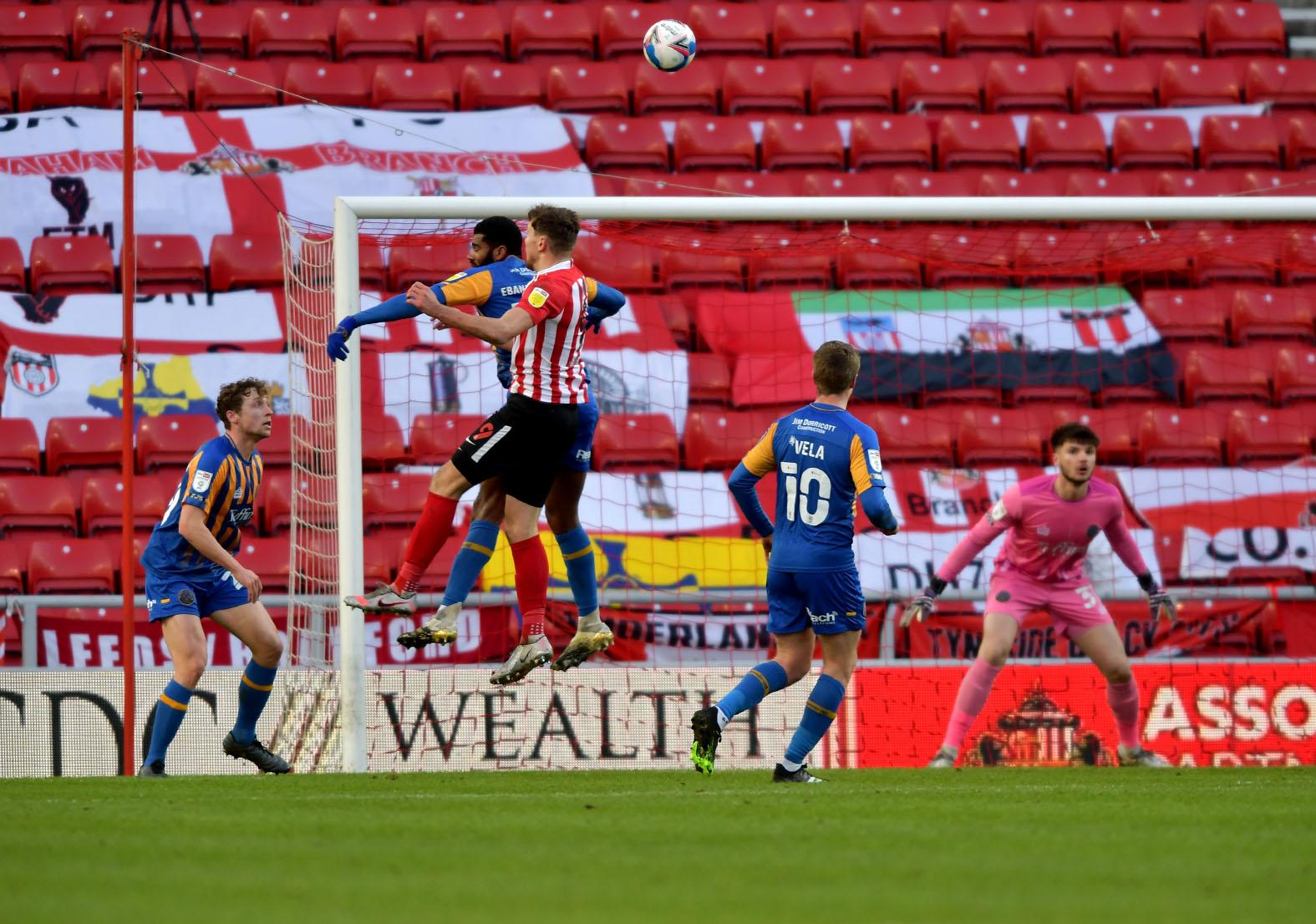 Wyke Shrewsbury Goal Sunderland blog