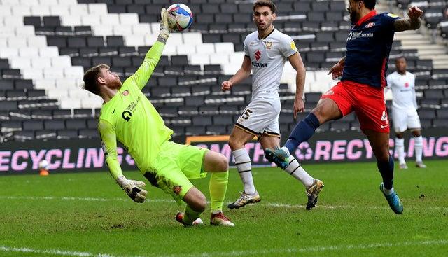 Burge save MK Dons Sunderland blog