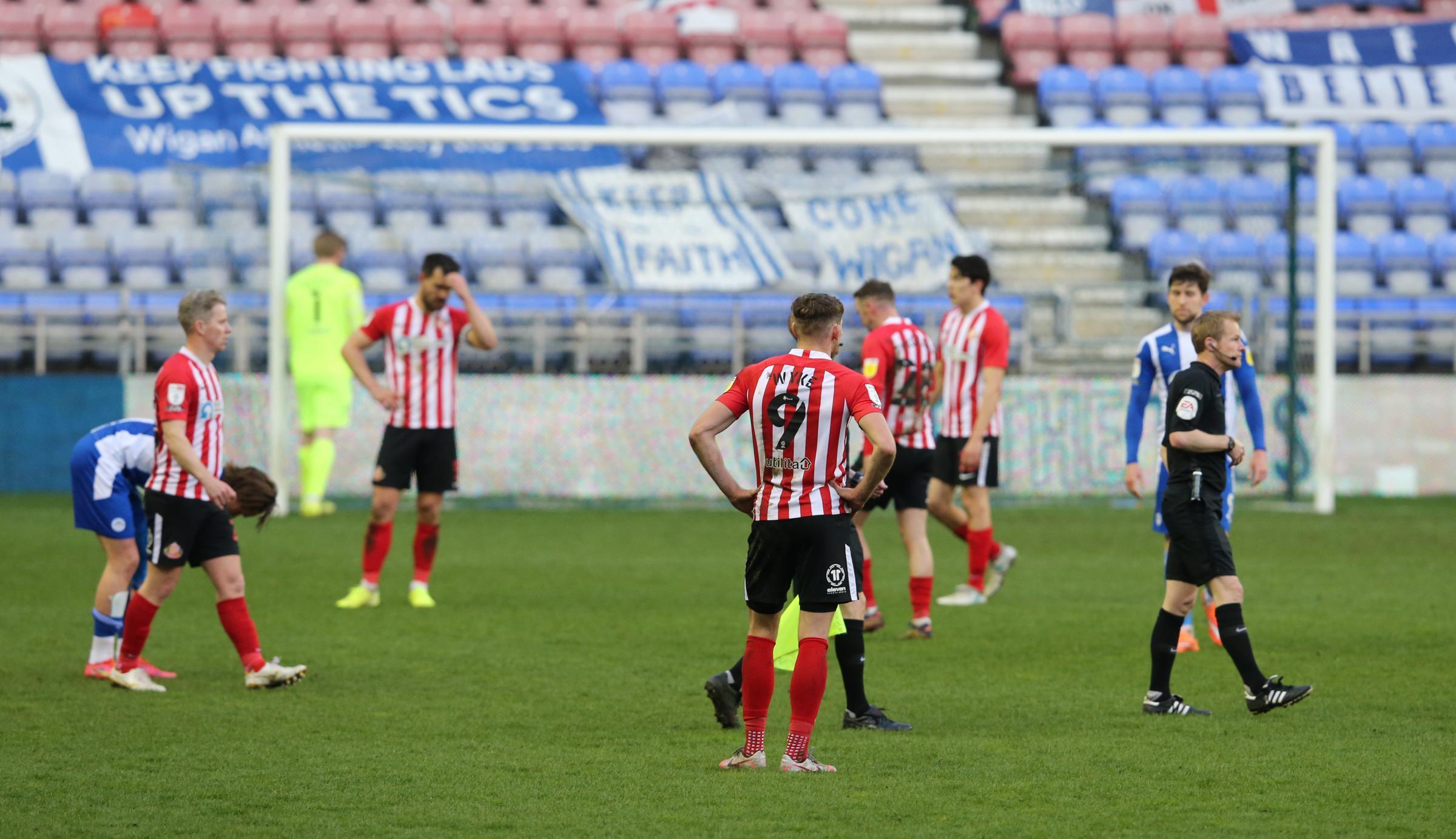 Wigan defeat Sunderland blog